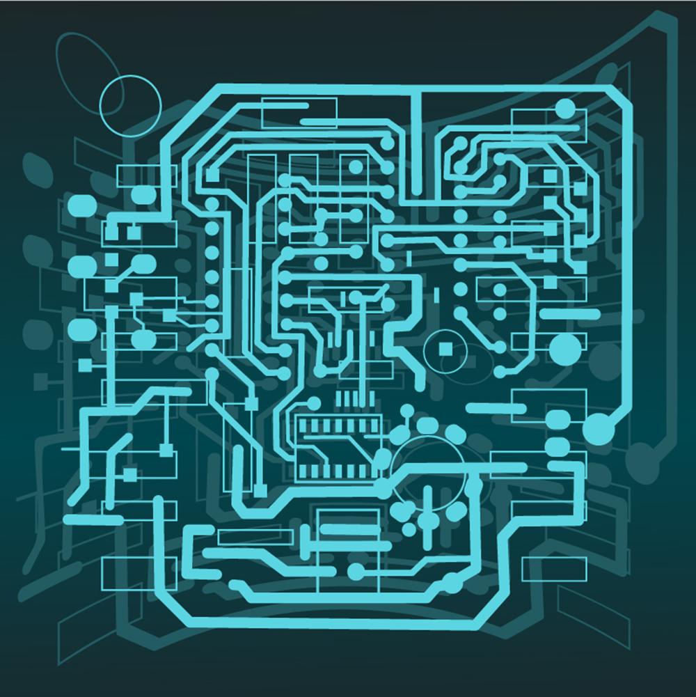 Hybrid LED PCB
